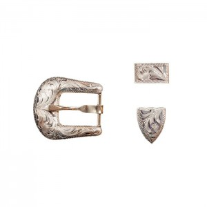 JM Capriola El Paso 3 Piece Buckle Set