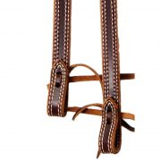 Doubled and Double Stitched Split Reins