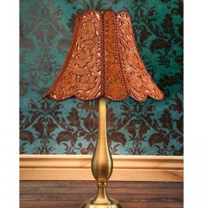 JM Capriola Leather Lamp Shade