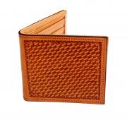 Bi-Fold Wallet Basket Stamped