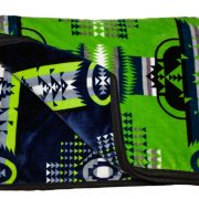 Bed Roll Blanket Lime/Navy