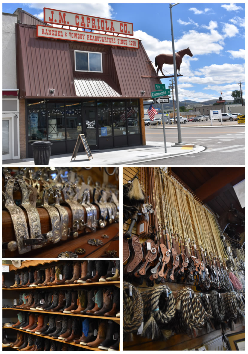 """""""We're one of the last true Western stores,"""" says Susan Wright, who manages the J.M. Capriola store with her husband John, a third generation owner."""
