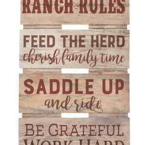 Ranch Rules
