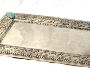 LARGE STAMPED TRAY